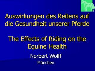 Norbert Wolff München