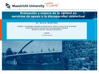 Evaluación y mejora de la calidad en servicios de apoyo a la discapacidad intelectual