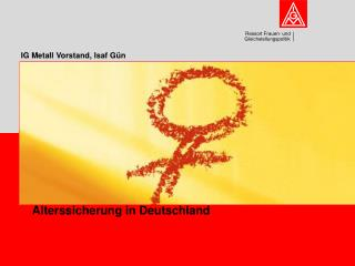 Alterssicherung in Deutschland
