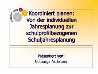 Präsentiert von: Notburga Astleitner