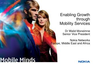 Enabling Growth  through  Mobility Services