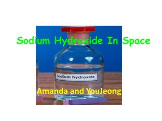Sodium Hydroxide In Space