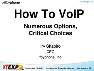 How To VoIP