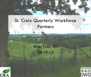 St. Croix Quarterly Workforce Partners