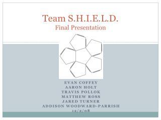 Team S.H.I.E.L.D. Final Presentation