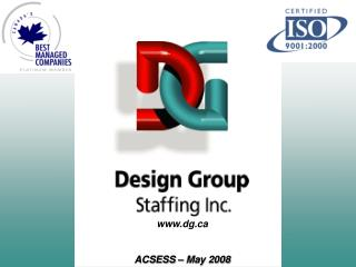 dg ACSESS – May 2008