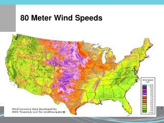 80 Meter Wind Speeds