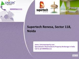 Supertech Renesa - Call us @ 09999561111