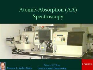 Atomic-Absorption AA Spectroscopy