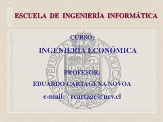 ESCUELA  DE  INGENIERÍA  INFORMÁTICA