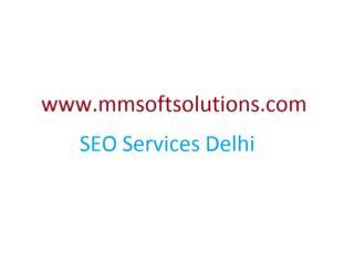 SEO Services in Delhi @ 09818-871-429