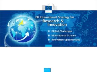 EU RESEARCH & INNOVATION POLICY AND HORIZON 2020