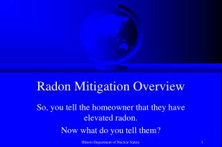 Radon Mitigation Overview