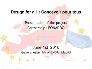 Design for all  / Concevoir pour tous