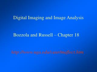 Digital Imaging and Image Analysis Bozzola and Russell – Chapter 18