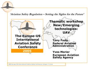 Thematic workshop New/Emerging technologies: UAV