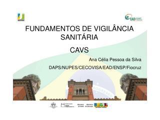 Fundamentos de Vigilância Sanitária