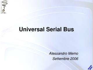 Universal Serial Bus