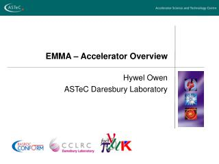 EMMA � Accelerator Overview