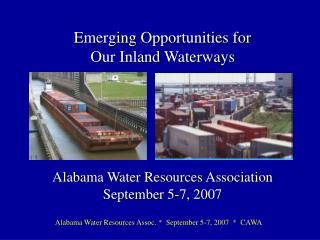 Ports and Waterways represented by CAWA Members