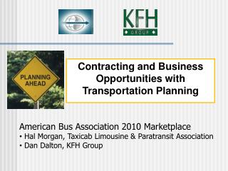 Contracting and Business  Opportunities with Transportation Planning