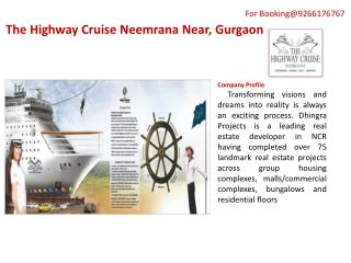 The Highway Cruise PPT@9266176767