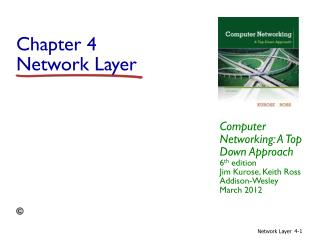 Chapter 4 Network Layer