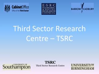 Third Sector Research Centre – TSRC