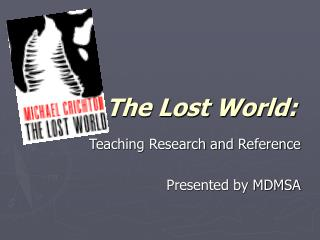 The Lost World: