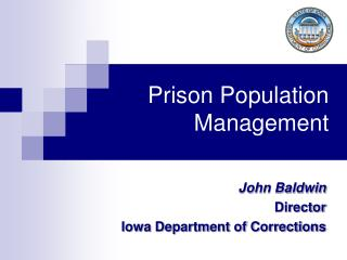 Prison Population Management