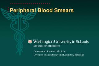 Peripheral Blood Smears