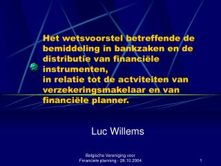 Luc Willems