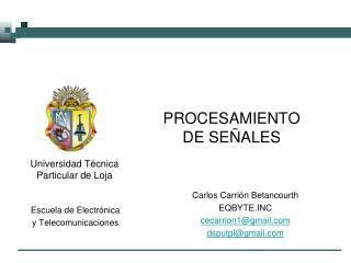 Universidad T�cnica Particular de Loja