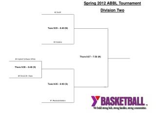Spring 2012 ABBL Tournament Division Two