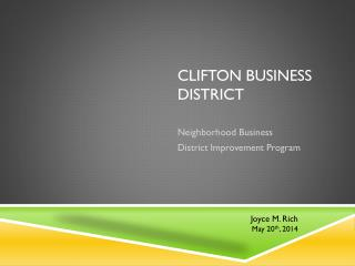 Clifton Business  District