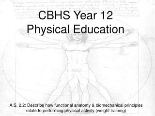 CBHS Year 12  Physical Education