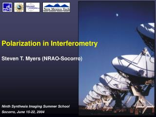 Polarization in Interferometry
