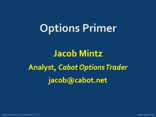 Options Primer