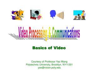 Basics of Video