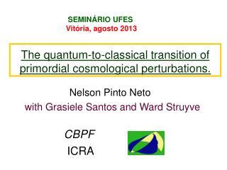 SEMINÁRIO UFES                         Vitória, agosto 2013