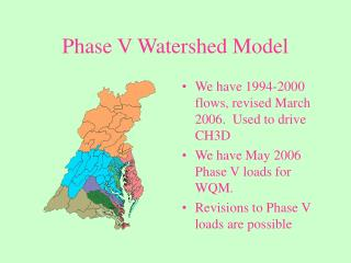 Phase V Watershed Model