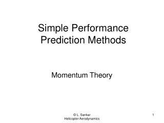 Simple Performance