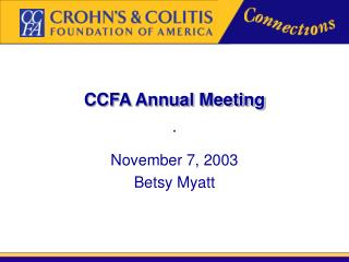 CCFA Annual Meeting