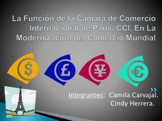Integrantes:   Camila Carvajal.                      Cindy Herrera.