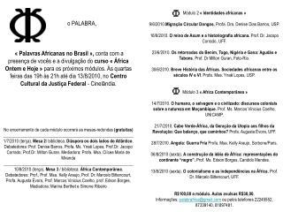 Palabra+apresenta+Africa+Ontem+e+Hoje+no+CCJF