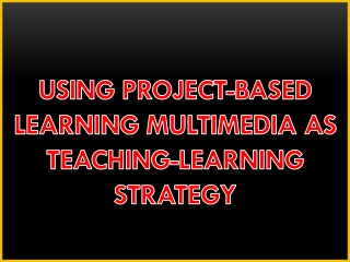 Using Technology for Multimedia Learning