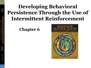 Developing Behavioral Persistence Through the Use of Intermittent Reinforcement