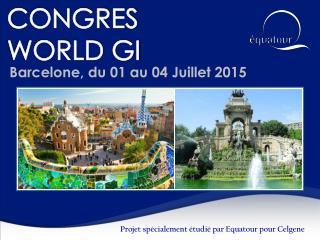CONGRES  WORLD GI