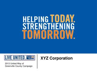 2013 United Way of  Greenville County Campaign