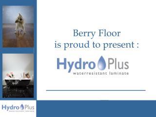 Berry Floor  is proud to present :